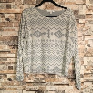 🌼Forever 21 Printed Sweater🌼